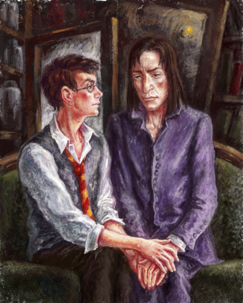 Harry potter fan art bdsm